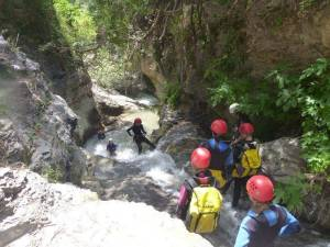 Canyoning Andalucia Sima del Diablo