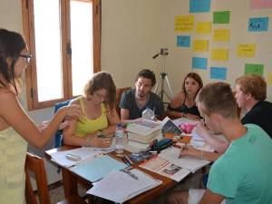 Spanish course for students