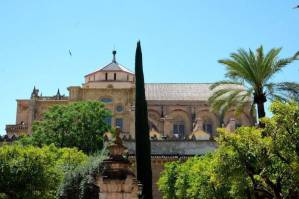 Iglesia en la Mezquita de Cordoba