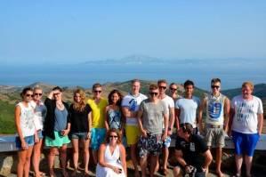 Mit den Spanisch-Sprachschülern beim Kulturausflug zur Meerenge von Gibraltar II.