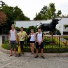 Ausflug nach Ronda mit den Spanisch-Sprachschülern an der Stierkampfarena I.
