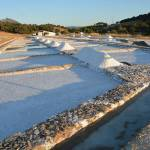 With the students of spanish during a cultural excursion, we visit the saltworks of Prado del Rey I.