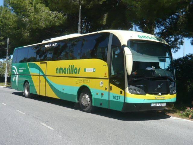 autobus Los Amarillos para llegar a Prado del Rey