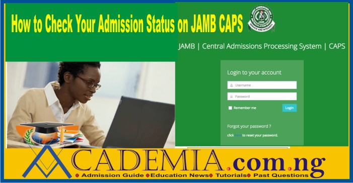 How to Check FULAFIA Admission List on JAMB CAPS