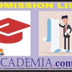 UNILAG Postgraduate Admission List