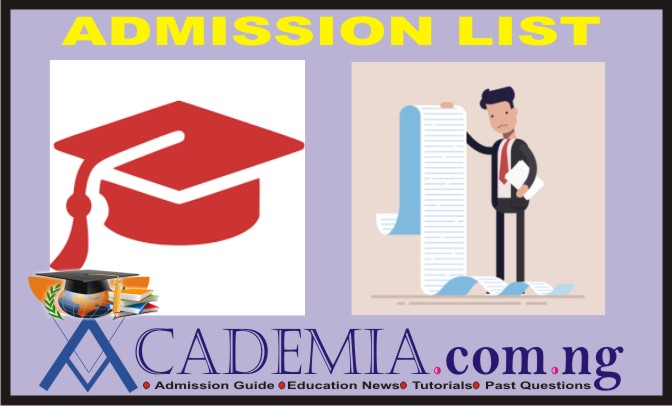 ATBU Screening: Admission List