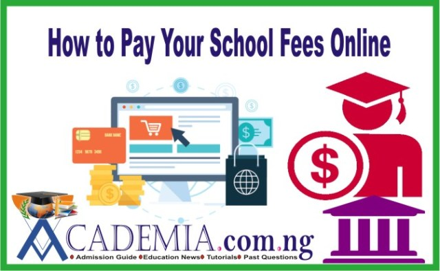 How to Pay FUTA School Fees