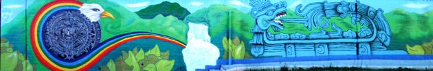 Grafiti mural de David Guardia. Alumno C10