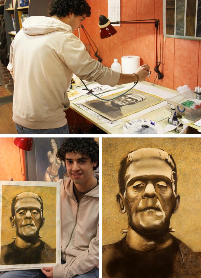 Frankenstein en academia C10.