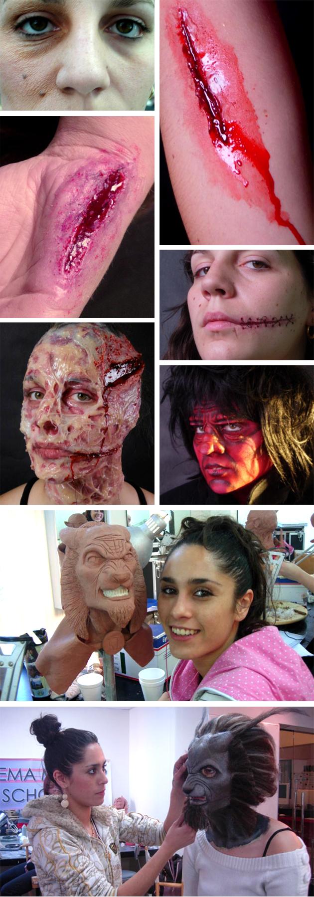FX de Maquillaje. Galeria de trabajos.