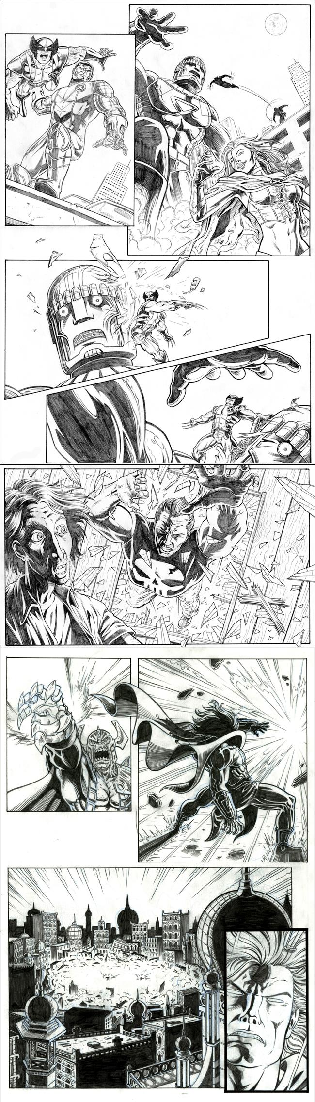 Comic de superheroes. Cursos de. Academia C10.