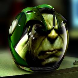 Cursos de aerografia en Academia c10. Hulk
