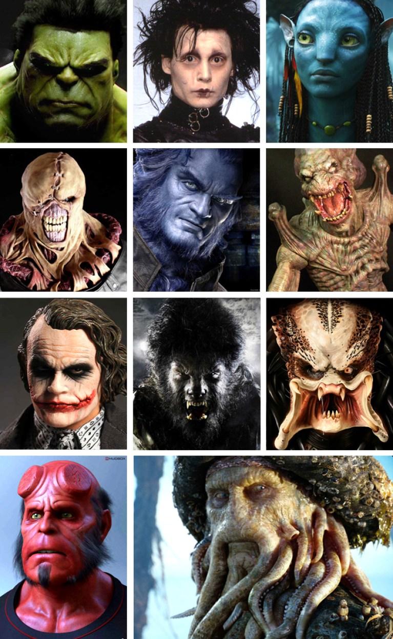 Galeria de monstruos 2 para los cursos de ilustración digital.