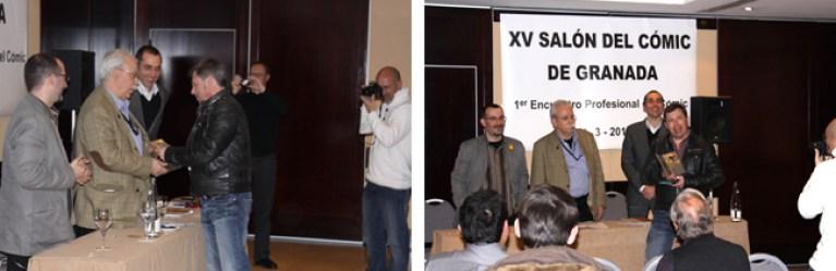 Academia C10 recomienda 4 el Salón delCómic de Granada. Carlos Díez.
