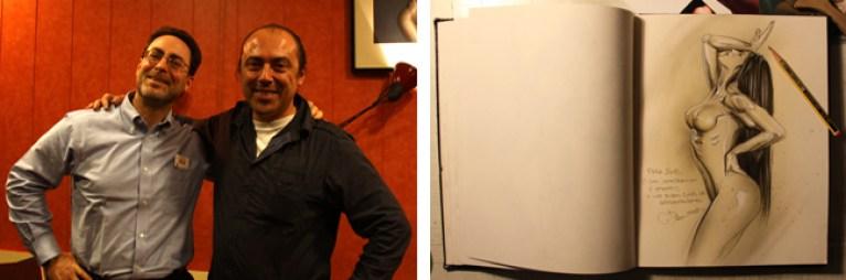 Robert _Bob_ Greenberger 6 en cursos de cómic de Academia C10.