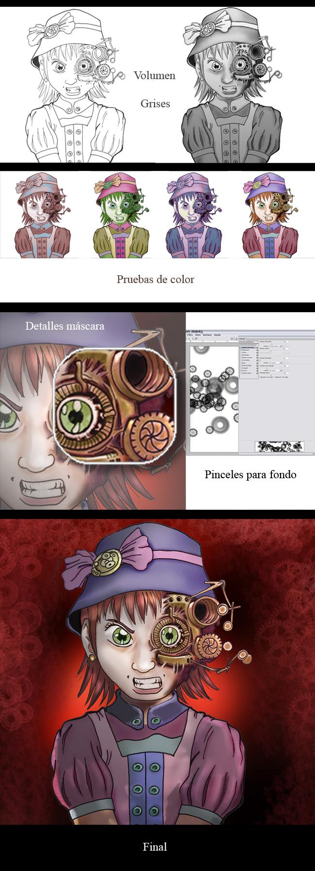 Tuto Olmo. Aerografia dibujo comic e ilustracion digital. Academia C10.