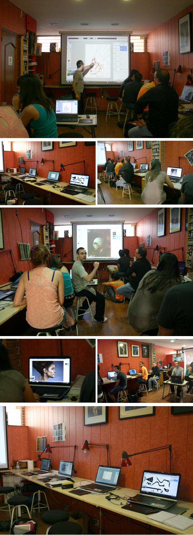 Curso Intensivo de verano de Dibujo, cómic e Ilustración digital en Academia C10