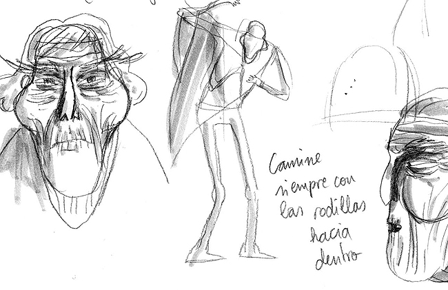 Diseño de personajes: Tempilcahue