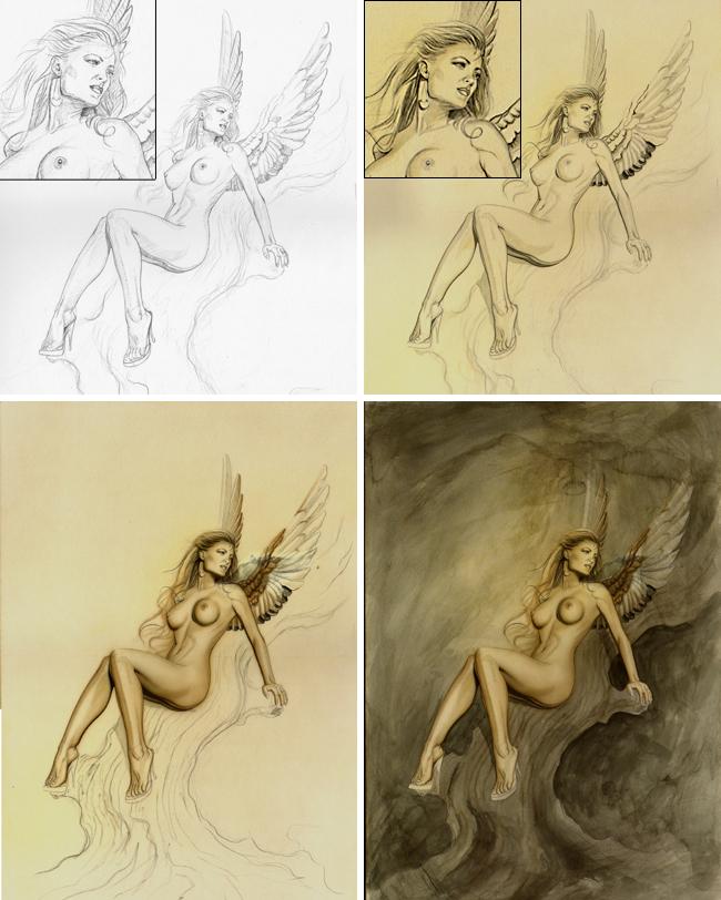 Anamar-1-carlos diez-ilustracion-aerografia-cursos de-academia c10-c10