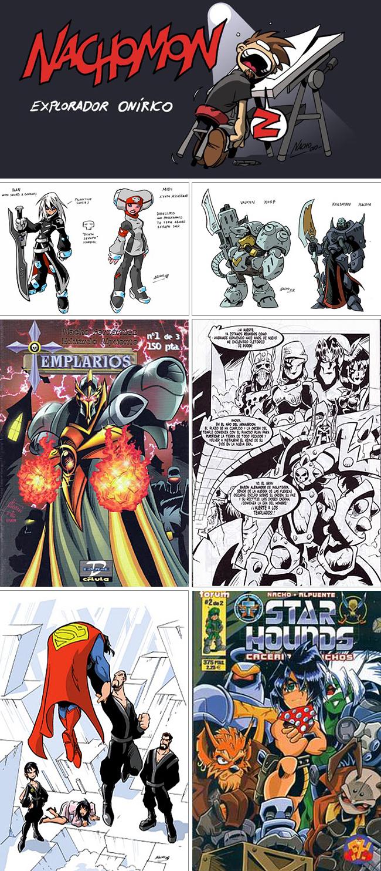 Nacho Fernandez academia c10 carlos diez cursos comic manga 1