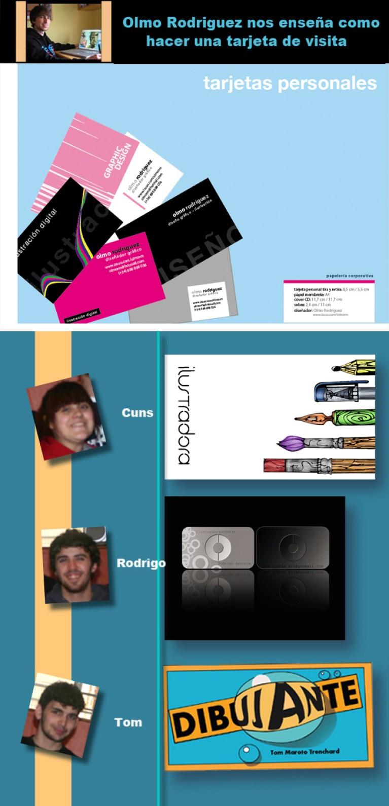Diseñando una tarjeta personal en Academia C10