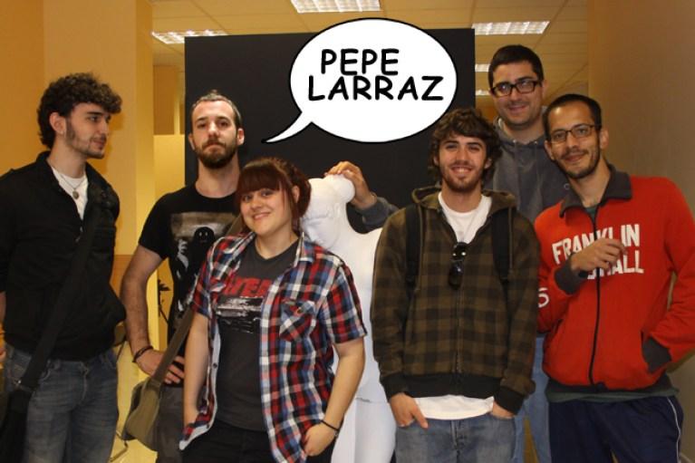 Pepe Larraz en Academia c10-1