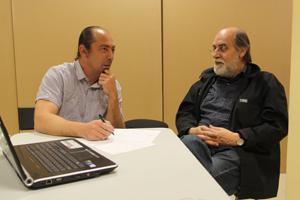 Vicente Alcazar con Carlos Diez en Academia C10