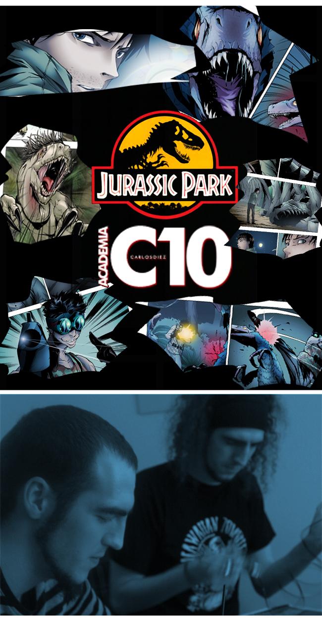 IDW prepara su lanzamiento de la nueva saga Jurassic Park con Estudio C10.