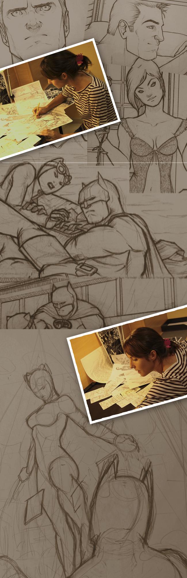 Cristina Coronas-Batman-Dc-Comics-Carlos Diez-Academia C10-1