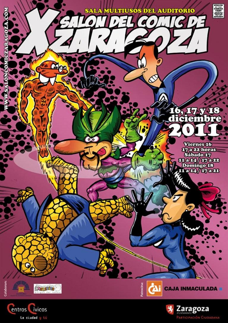 Nueva edición del Salón del cómic de Zaragoza