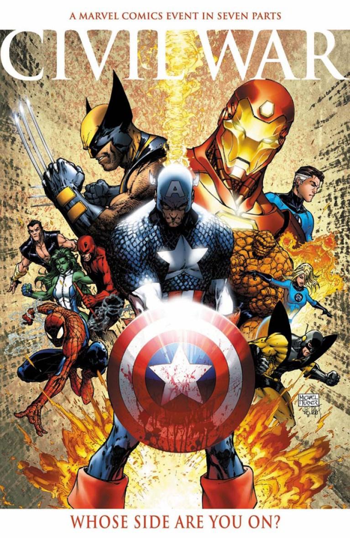 La gruta del cómic: Civil war.