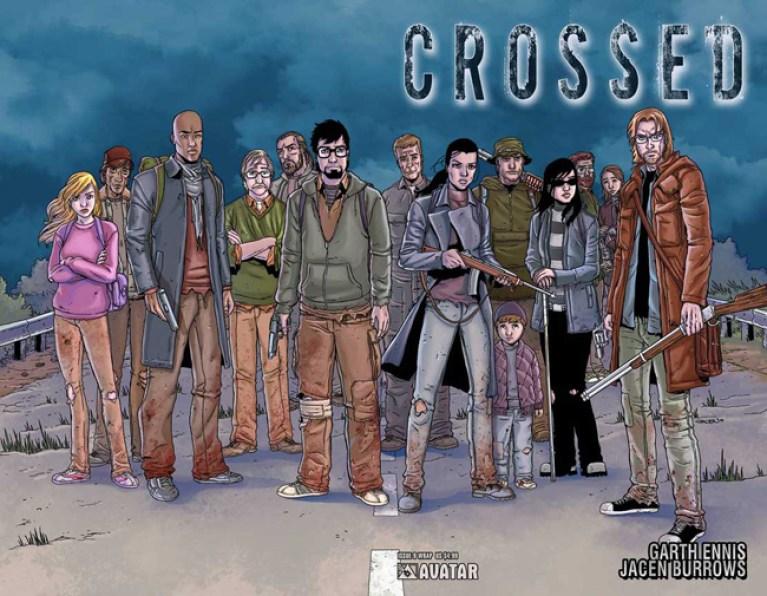 """Crossed"" de Garth Ennis al cine, Machete ya tiene fecha de estreno"
