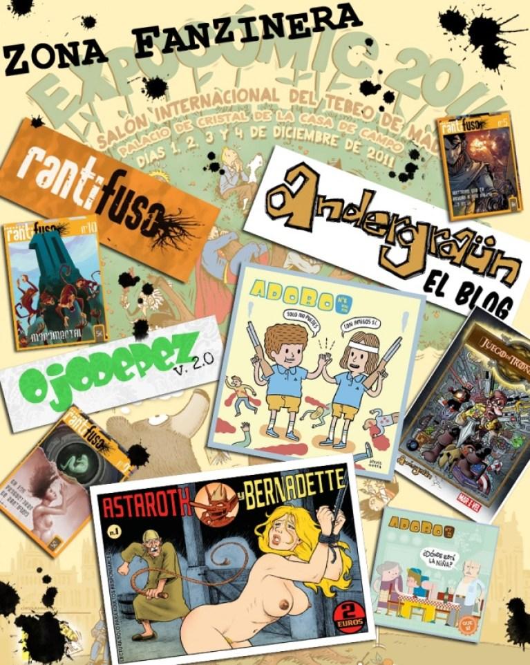 Fanzines en Expocomic 2011