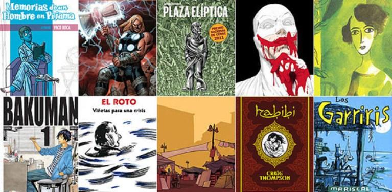 Los 10 mejores cómics de 2011.