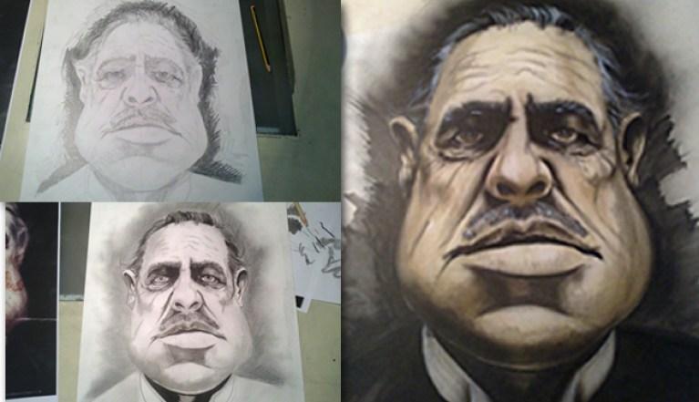 Marlon Brando_Ilustracion_aerografia_cursos_carlos diez_academia c10_trabajo de alumno_13 copia