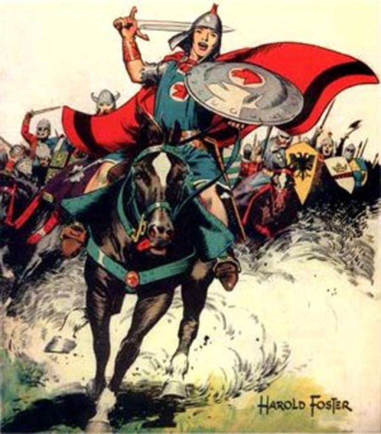 La gruta del cómic: El príncipe valiente.