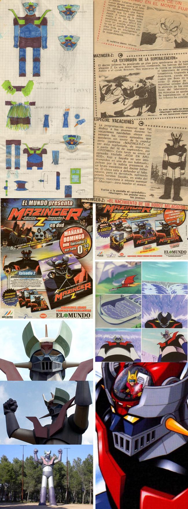 Mazinger-z-1-academia-c10-madrid-comic-cursos-carlos diez-aerografia-ilustracion