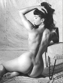 Betty Page, la reina del Pin Up en fotografía erótica de desnudo.