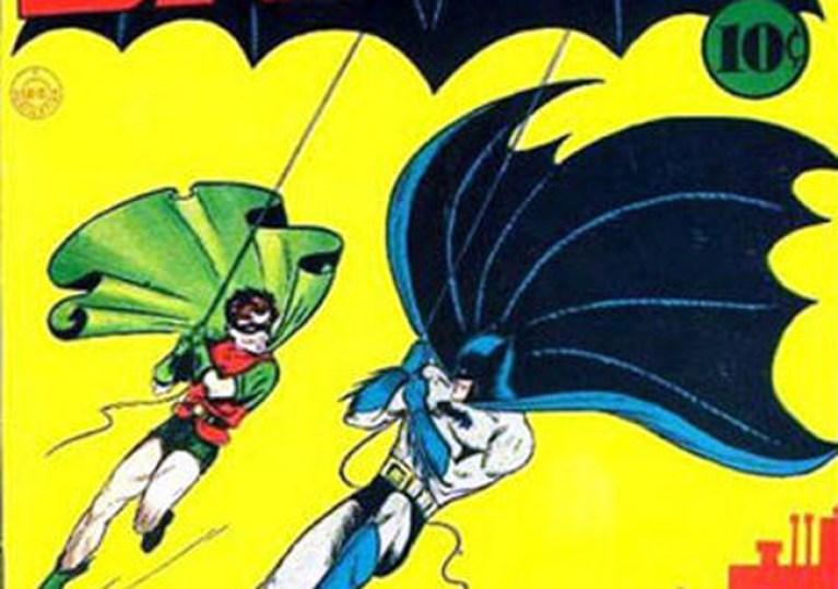 El primer cómic de Batman, vendido por 656.000 euros