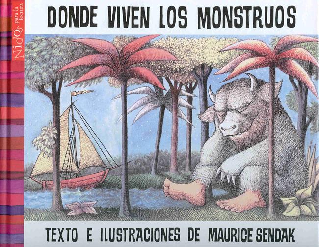 Maurice Sendak-Donde viven los monstruos-Madrid-Comic-Academia C10