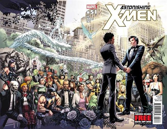 El cómic X-Men celebra la primera boda gay entre superhéroes