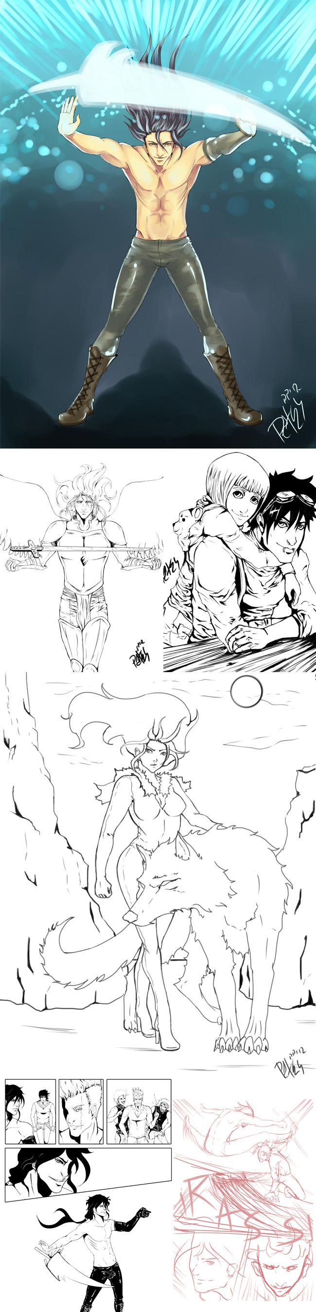 Manga-Patricia-Pastor-Madrid-Comic-Diana-Fernandez-Kosen