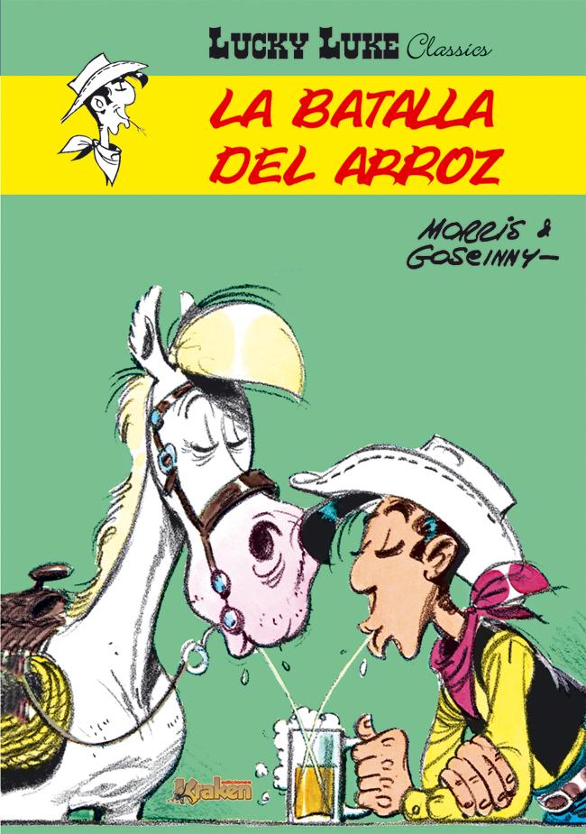 Ediciones-Kraken-clasico-Lucky-Luke-comic-Morris