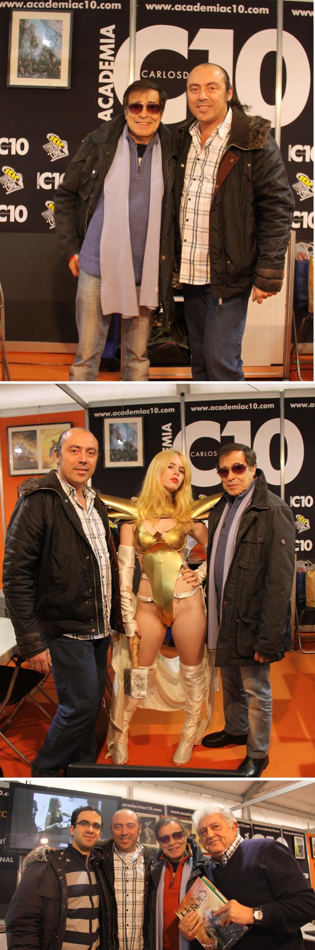 Alfonso-Azpiri-visita-stand-Academiac10-Expocomic-Madrid