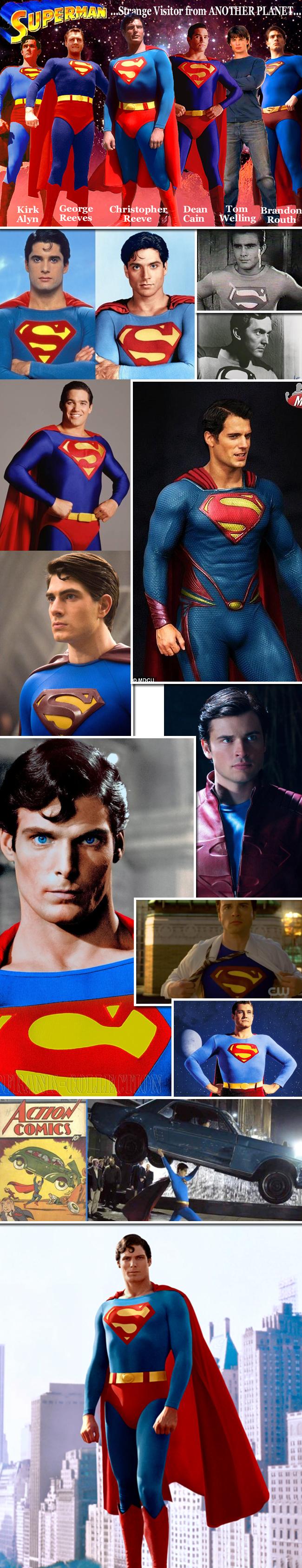 Superman trajes cine Cristopher Reeve articulo de Carlos Diez desde Academia C10