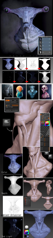 z brush-escultura-digita-ilustracion-dibujo-modelado-monstruos-trabajo-academia-c10l