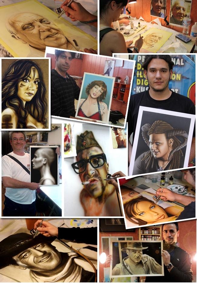 curso-cursos-retratos-aerografia-aerografo-ilistracion-pintura-dibujo-academia-c10-clases-madrid-2