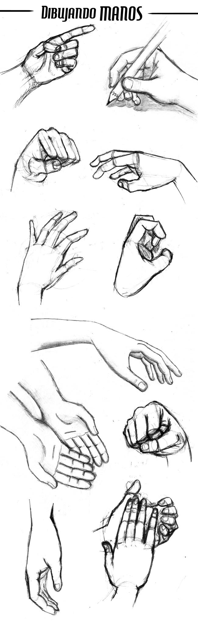 trabajos-alumnos-comic-sabados-dibujar-manos-anatomia-academiac10-madrid