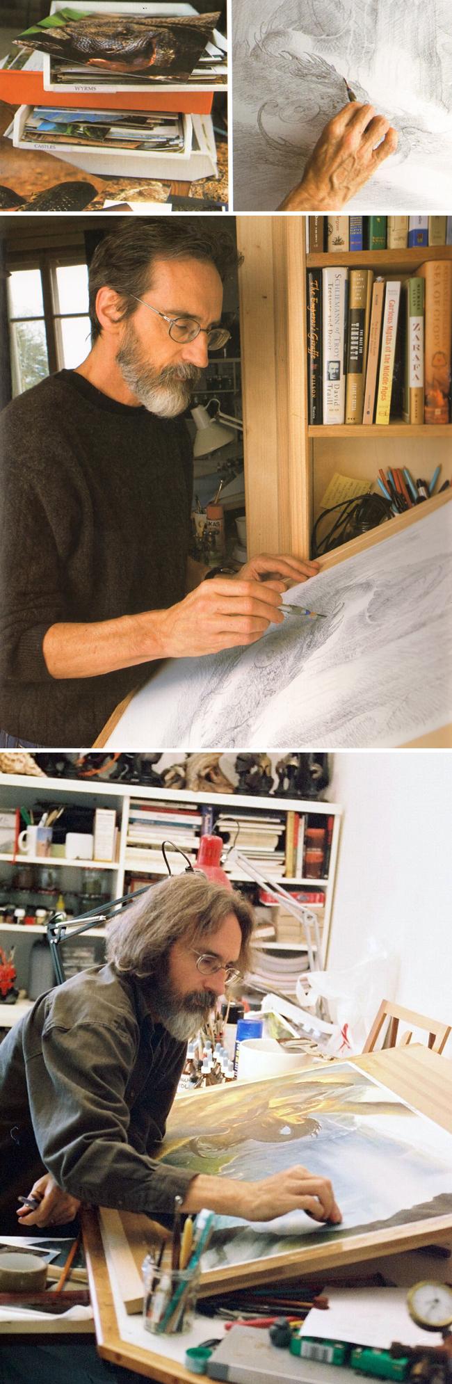 John-Howe-ilustracion-dibujo-comic-academiac10-madrid-18