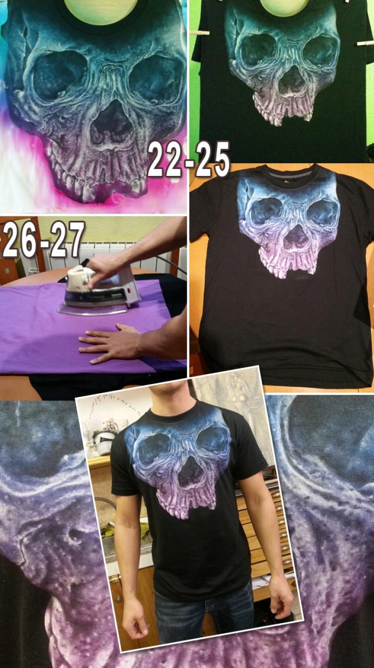Aerografía textil Academia C10: personaliza camisetas con estos consejos
